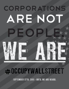 Occupy Wall Street Poster 3