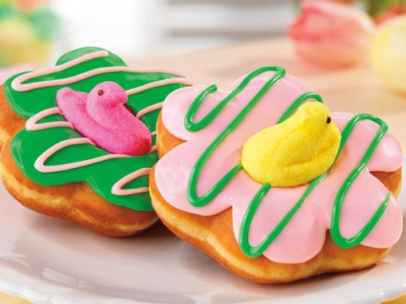 Easter-Themed 'PEEPS' Doughnuts