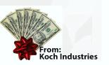 Koch Donations