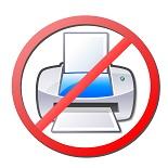 No Printer