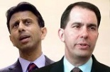 Walker and Jindal