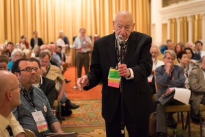 Jordan Kurland at the 2014 AAUP Annual Meeting