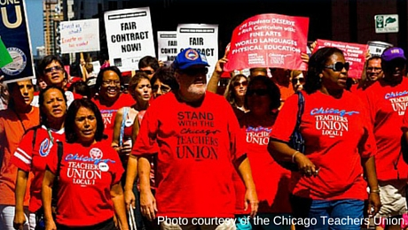 Photo courtesy of the Chicago Teachers Union.