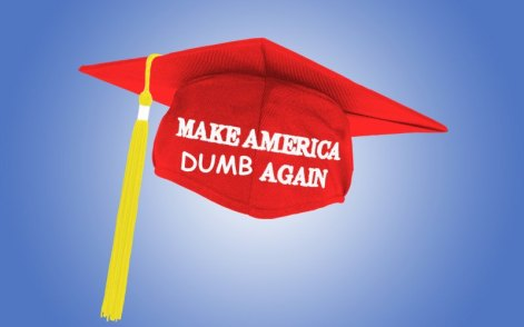 Make America Dumb Again []
