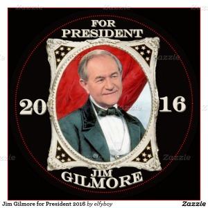 Gilmore for President Button [2]
