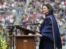 Sheryl Sandberg at Berkeley