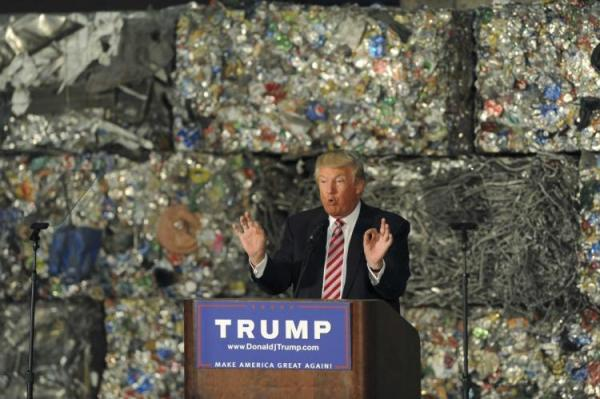 Trump and Recycling 001