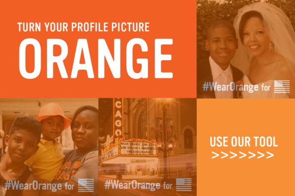 Turn Your Profile Picture Orange