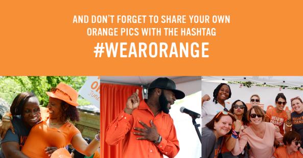 #Wear Orange