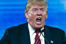 Shouting--1 Trump