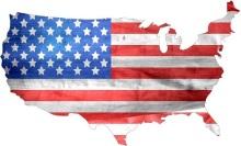 Tech Open Letter [Flag on US Map]