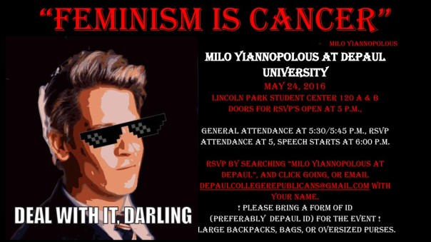 Milo Yiannopoulos at DePaul