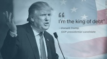 Trump--I'm the King of Debt