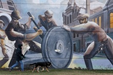 Labor Day--Mural