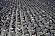 standardized-testing-of-9th-graders-at-one-hs-in-china